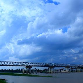 Jembatan Aurduri I Jambi by Octavianus Rio Herliawan - Landscapes Travel