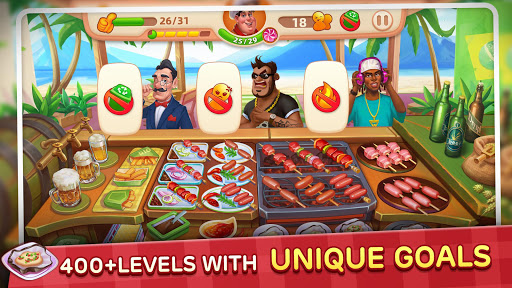 Cooking Yummy-Restaurant Game apkpoly screenshots 2