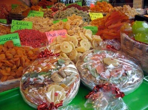In Italy Candied Fruit Is Given As Gifts -- What A Great Idea!