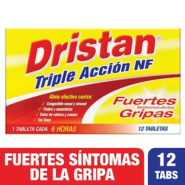 DRISTAN Triple Acción NF   Tab.Caja x12Tab. PFI Acetaminofén Fenilefrina