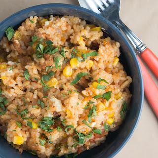 Spanish Inspired Chorizo Risotto