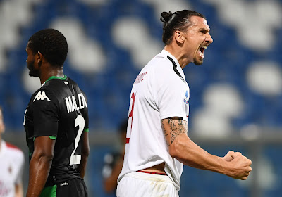 'Zlatan Ibrahimovic blijft nog een jaartje langer ploegmaat van Alexis Saelemaekers'
