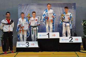 Photo: Severin Lindner Deutscher Ju-Jutsu-Vizemeister im Fighting U18 -50 kg