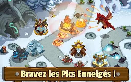Realm Defense: Hero Legends Défense de tours TD  captures d'écran 2