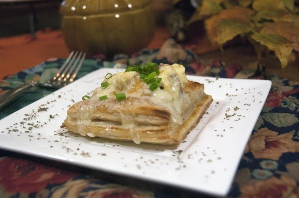 Mouth Watering Breakfast Vol Au Vents Recipe