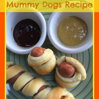 Mummy Dogs Recipe with Mummy mustard and a Paypal Giveaway #MummyDogs #ad.