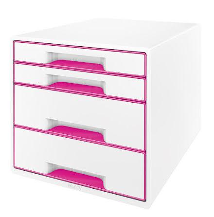 Förvaringsbox Leitz Wow rosa