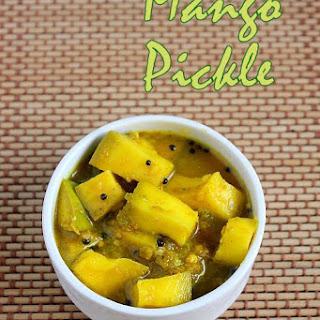 Easy Mango Pickle Recipe | Karnataka style Mango Pickle