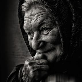 by Jasna Petrovic-Zivkovic - People Portraits of Women ( senior citizen )