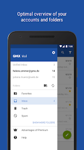 GMX - Mail & Cloud 6 5 5 + (AdFree) APK for Android