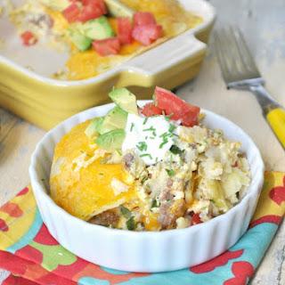 Skinny Mexican Breakfast Casserole Recipe