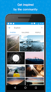 500px – Discover great photos screenshot 1