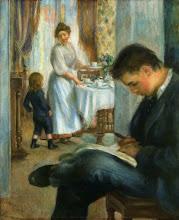 """Photo: Pierre-Auguste Renoir, """"Colazione a Berneval"""""""