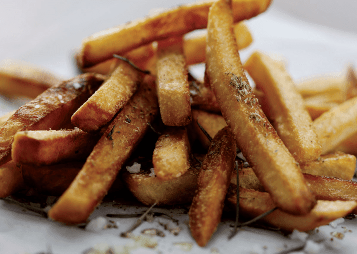 airfryer recipes - Seasoned Fries