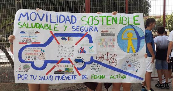Estudiantes de Nueva Andalucía quieren llegar a clase de forma sostenible