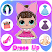 LOLA Surprise Dress up - DressUp dolls !
