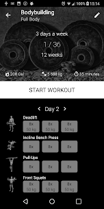 Bodybuilding.Weight Workout v1.21 [Pro][Mod][SAP] 1