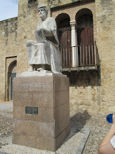 Photo: This is a statue of Seneca, a Roman stoic philosopher. We learned about several of his works during our Spanish Civilization class.