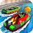 Speed Boat Crash Racing Icône
