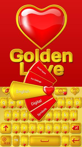 ゴールデン愛のキーボード