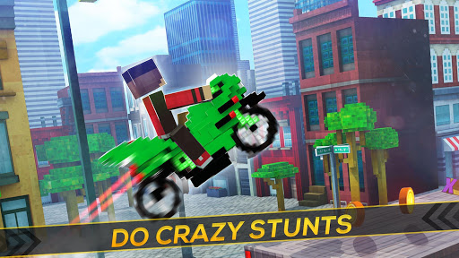 Blocky Superbikes Race Game - Motorcycle Challenge screenshots 2