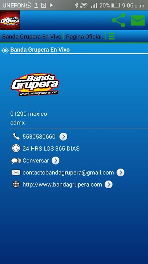 Banda Grupera Radio- screenshot