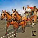 Mounted Horse Passenger Transport icon
