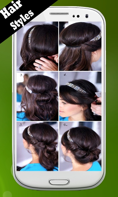 Admirable Hair Styles Step By Step Android Apps On Google Play Short Hairstyles Gunalazisus