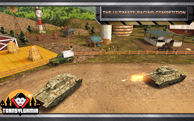 Warrior Tank 3D Racing- screenshot thumbnail