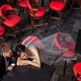 by Nalson Chong - Wedding Bride & Groom ( wedding photography, wedding )