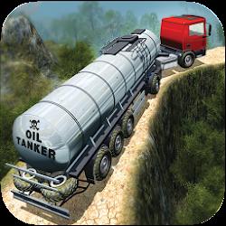 Oil Tanker Fuel Transporter Truck Sim : hill Climb