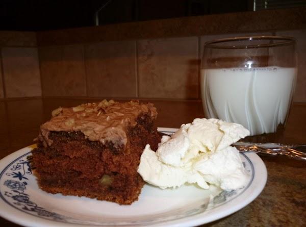 Zucchine Chocolate Chip Cake Recipe
