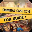 Guide Criminal Case 2016 icon