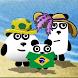 3 Pandas in Brazil : Adventure Puzzle Game