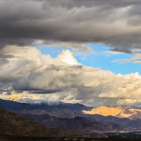 Gray skies are just clouds passing over ! by Jay Thakore - Landscapes Cloud Formations ( #clouds #mountains #shadows #light #lehladakh #kashmir #india #heavenonearth #landscape #photography #photographylove #canon #canon700d #canonaisa #canonindia #nature #naturescape #naturelove #atmosphere #travellove #travellingindia #explore #explorekashmir #exploreindia )