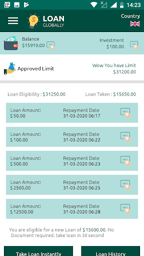 Loan Globally for PC