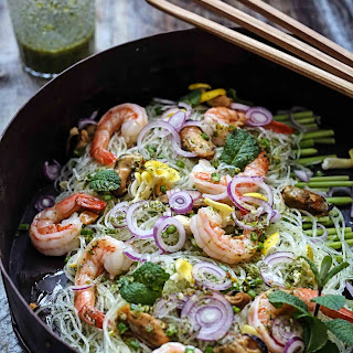 Thai vermicelli salad  à la San Francisco