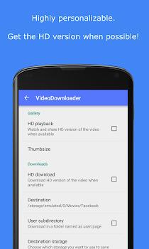 MyVideoDownloader for Facebook: download videos!