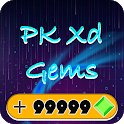 Trivia & Gems for Pk Xd - How to Get Gems! icon
