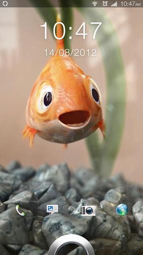 Homemade Fish Live Wallpaper