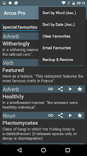 Arcus Dictionary Pro (ADS)- screenshot thumbnail