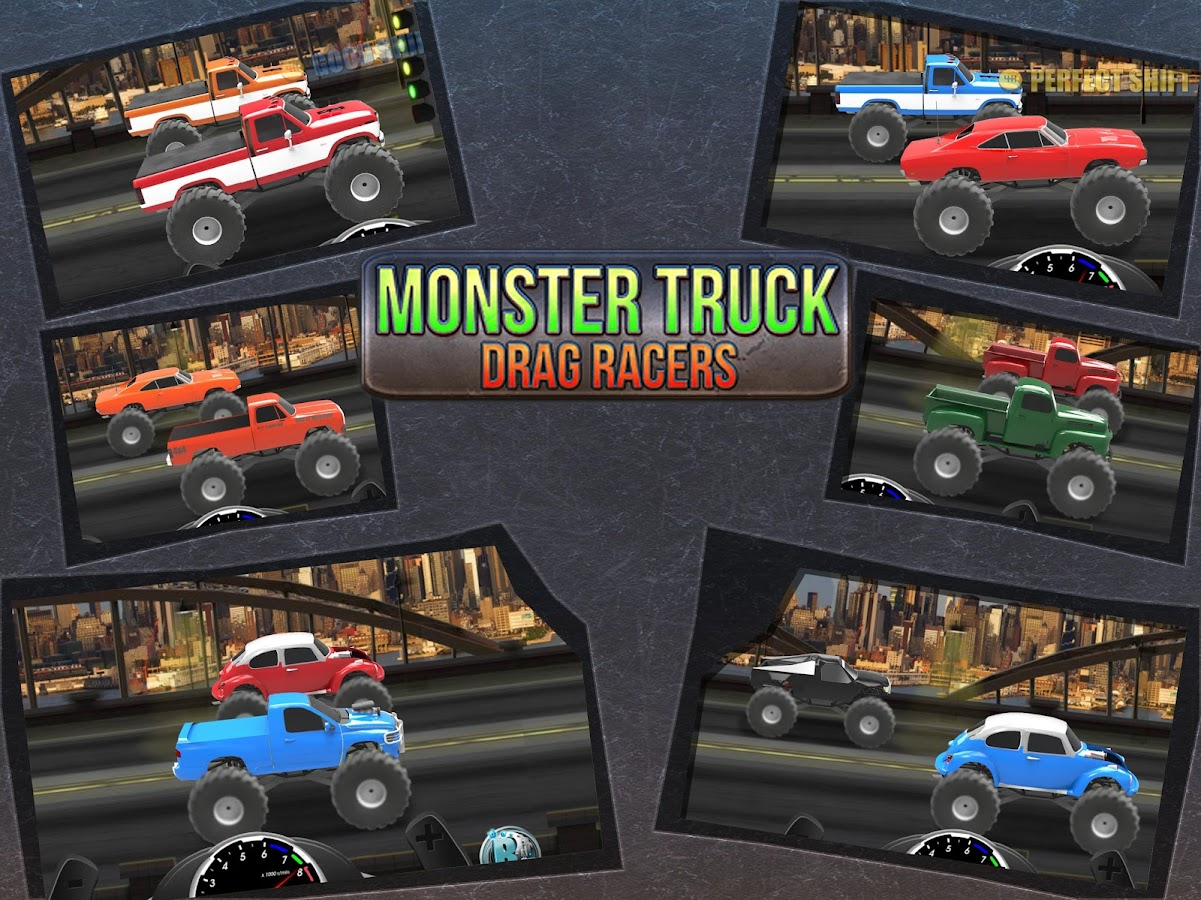 Monster Truck Drag Racers- screenshot