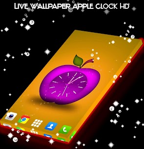 Live Wallpaper Apple Clock HD App Latest Version  Download For Android 4