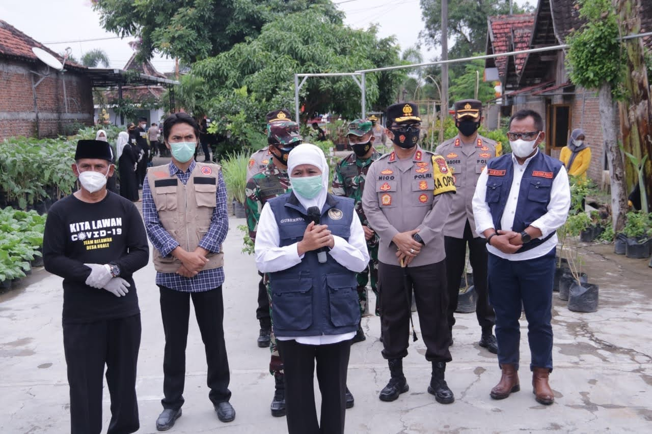 Forkopimda Jawa Timur Cek KTS Di Madiun Jawa Timur