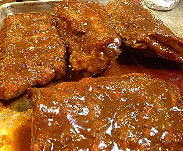 Oven Baked Sassy Ribs & Sauce