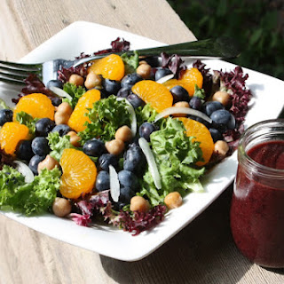 Blueberry and Mandarin Orange Salad