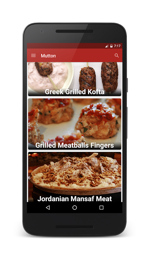 Arabic food recipes in arabic android apps on google play arabic food recipes in arabic screenshot forumfinder Image collections