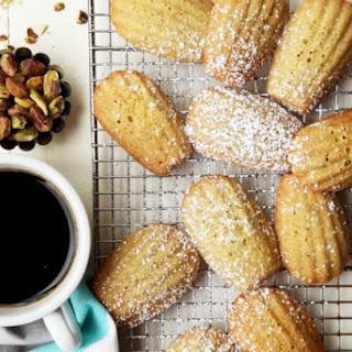 Tartine's Gluten-Free Pistachio Madeleines.