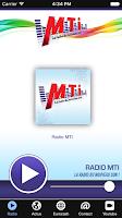 Screenshot of Radio MTI