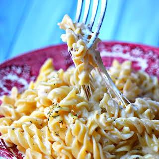 Cream Four Cheese Pasta Recipe - Marie.